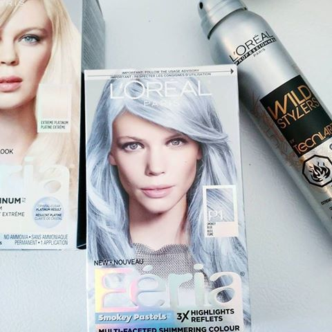 Coloration permanente cheveux gris