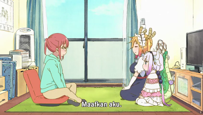 DOWNLOAD Kobayashi-san Chi no Maid Dragon Episode 2 Subtitle Indonesia