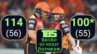 Jonny Bairstow 114 | David Warner 100* - SRH vs RCB 11th Match IPL 2019 Highlights