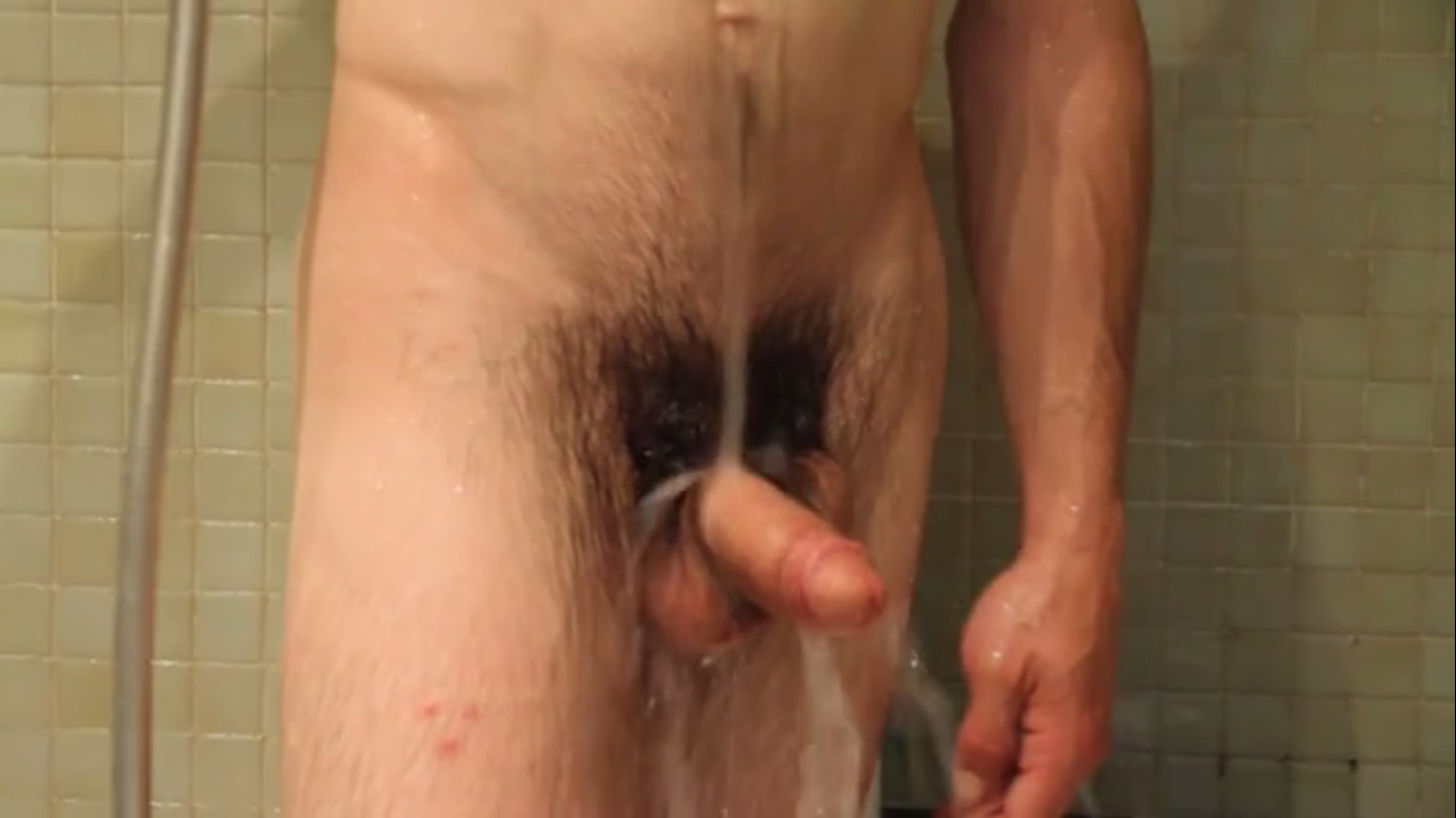 hairy big dick young guy