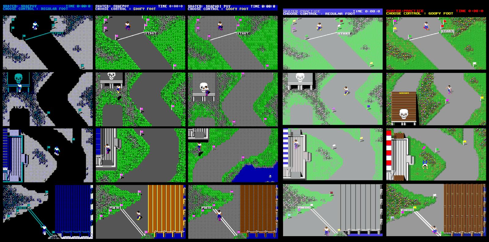 FRGCB - Finnish Retro Game Comparison Blog: Skate or Die