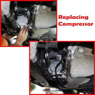 Air-Cond Compressor of Chevrolet Captiva Sgwangacc