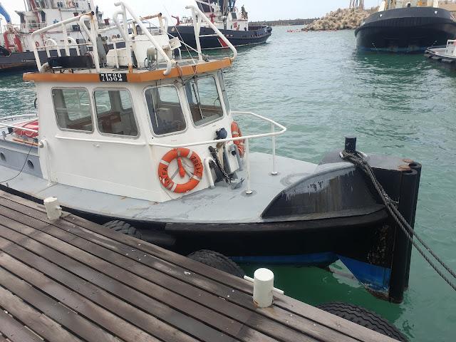 במעגן סירות הנתבים