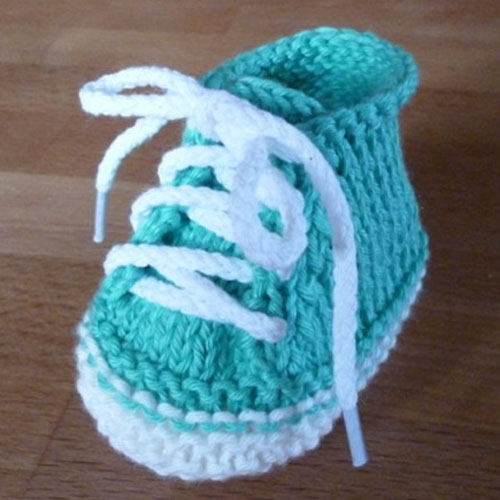 Cute Baby Booties – Free Pattern