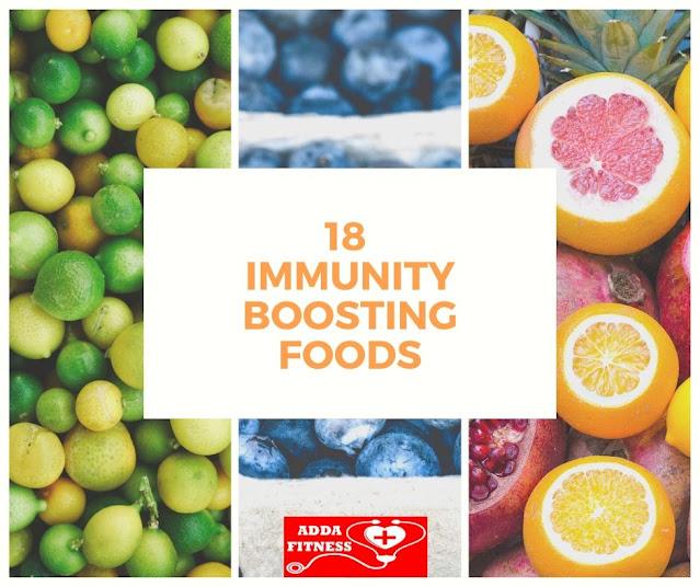 18 Immunity Boosting Foods
