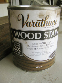 how to stain wide plank plywood flooring