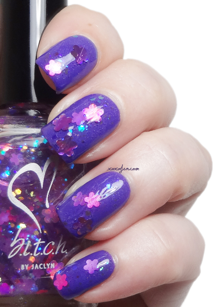 xoxoJen's swatch of b.i.t.c.h. by jaclyn May Flowers