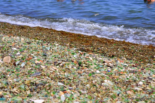 стеклянный пляж калифорния. фото
