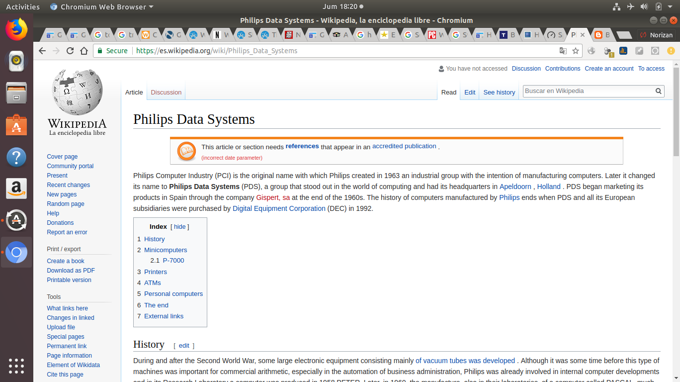 My journey with the Linux Operating System: Philips Data