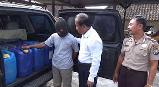 Polisi Berhasil Sita 770 Liter Arak Jowo dari Bekonang