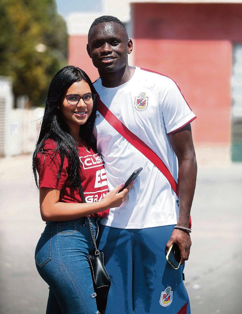 Danny Pérez encontró novia venezolana en Chile