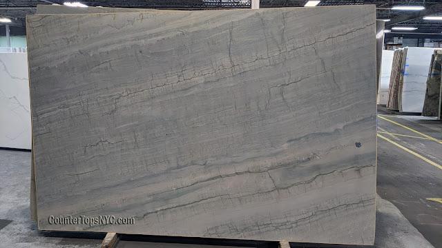 Infinity Gray Blue Green Quartzite NYC