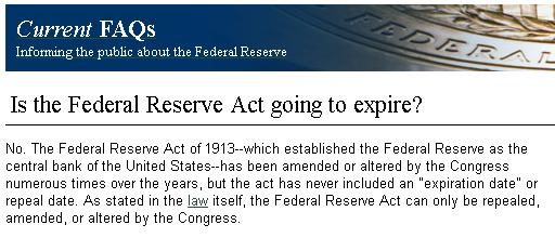 covertress: The Federal Reserve Act DOES NOT Expire on Dec