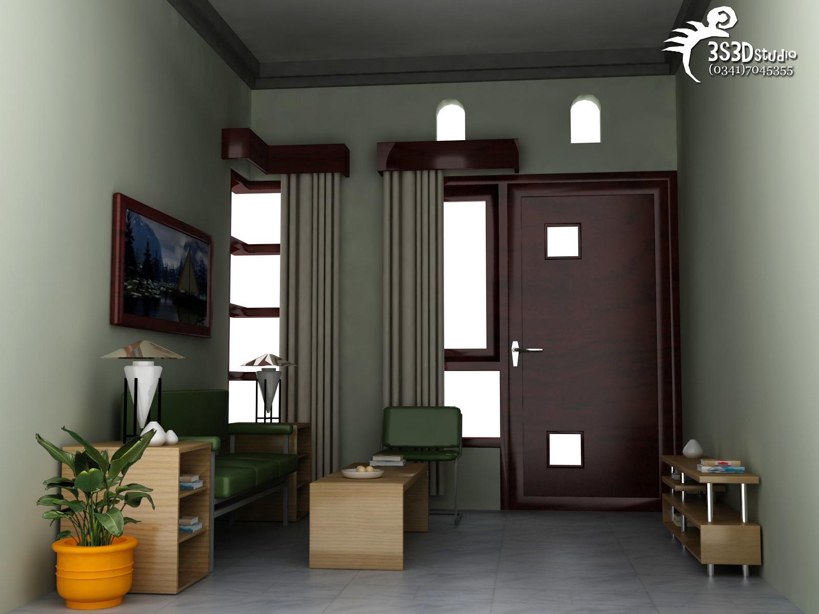 Design Interior Rumah Interior Ruang Tamu 5