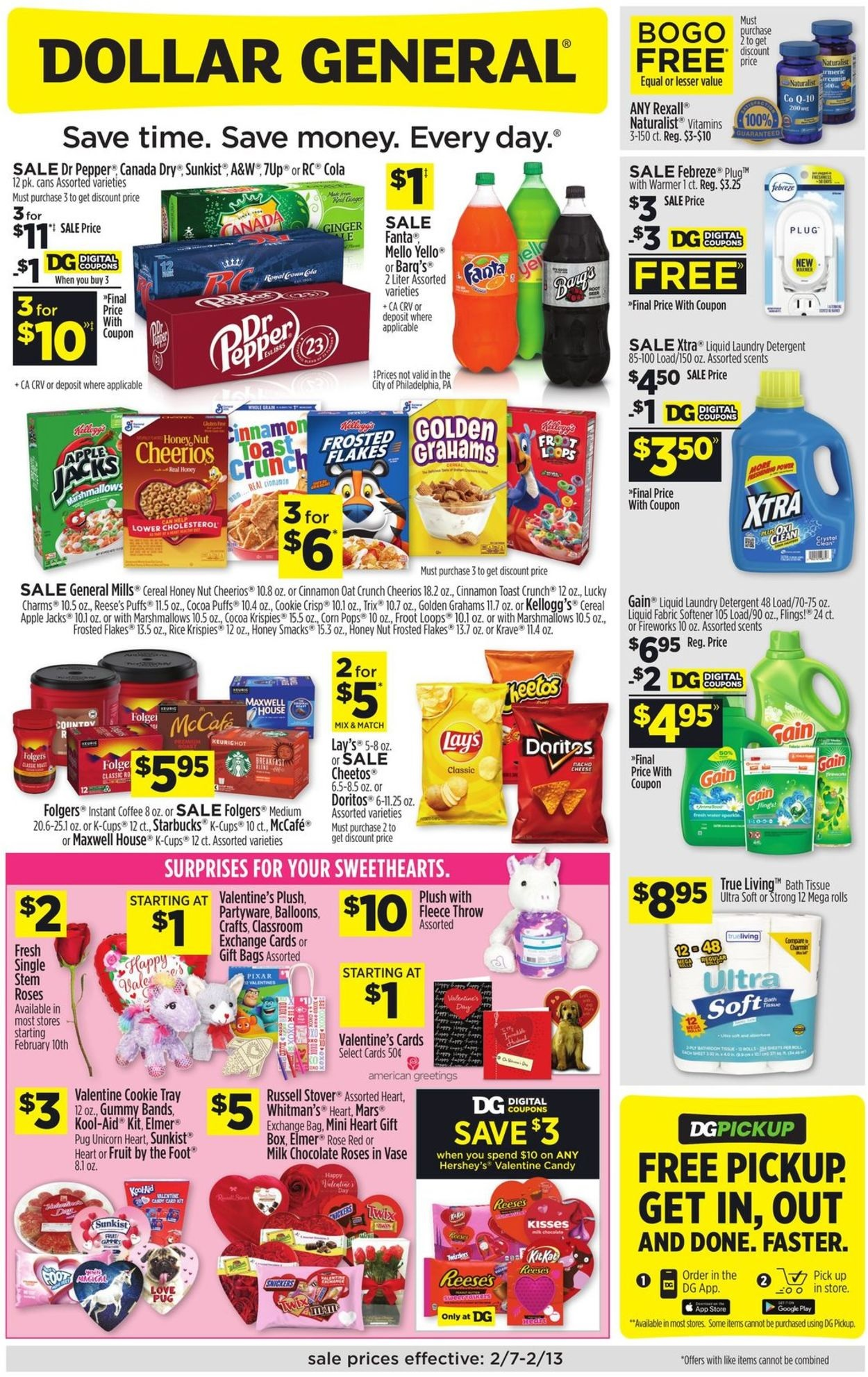 Dollar General Ad February 14 20 2021 And 2 21 21