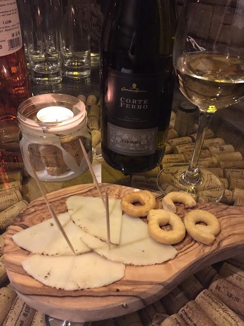 Veeno Selezione wine tasting event, Leeds Wellington Place Corte Perro Sicani Zibibbo, Pecorino in Grotta