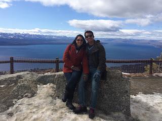 Vista do topo do Cerro Otto em Bariloche