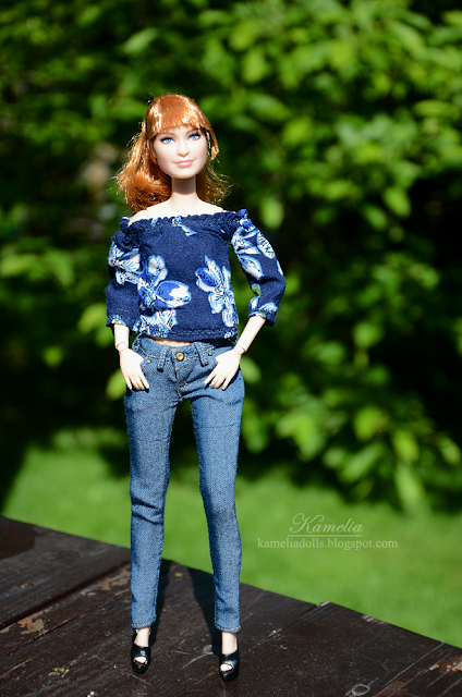 Claire Jurassic World Barbie doll