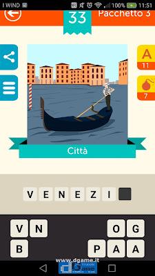 Iconica Italia Pop Logo Quiz soluzione pacchetto 3 livelli 33-50