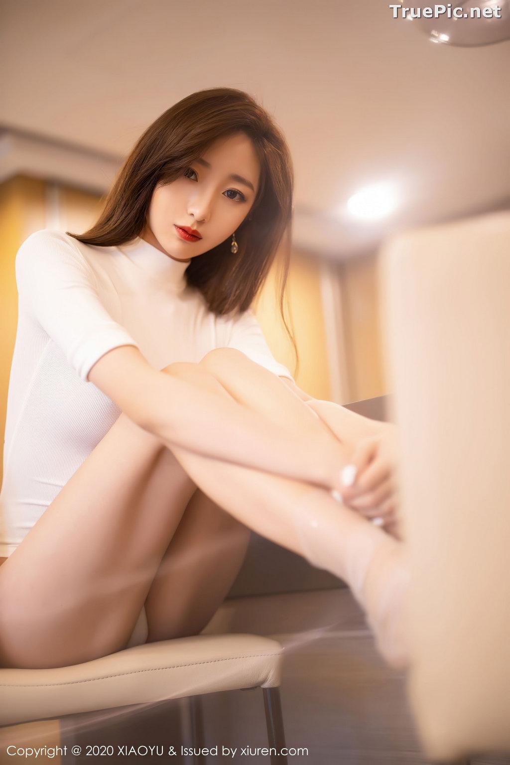 Image XiaoYu Vol.389 - Chinese Model - 安琪 Yee - Beautiful In White - TruePic.net - Picture-8