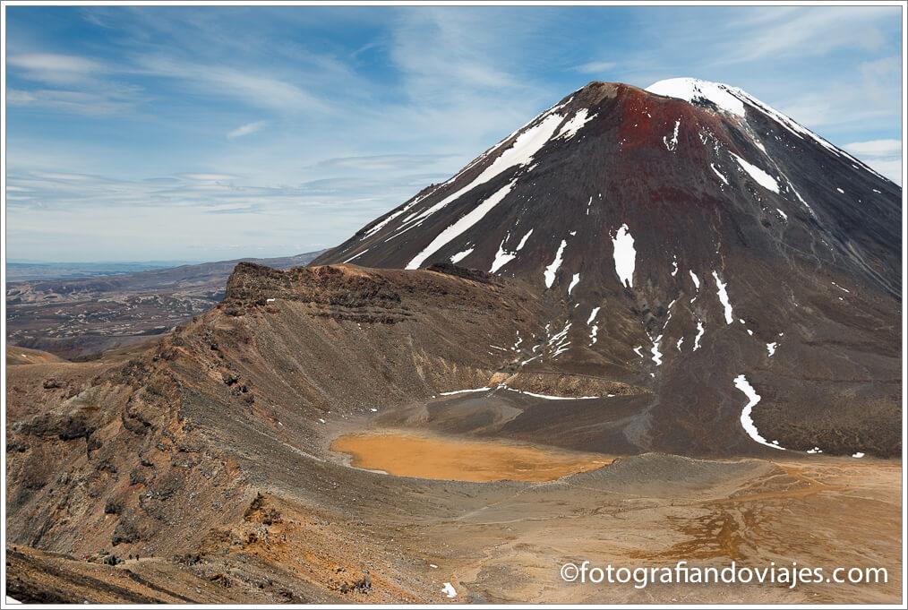 Monte Ngauruhoe Tongariro Alpine Crossing Nueva Zelanda