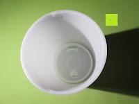 Deckel innen: Aiho 50ml USB Auto Aroma Diffuser Mini AD-P3 Aromatherapie Ätherische Öl Ultraschall Luftbefeuchter Humidifier
