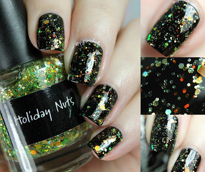 CrowsToes Nail Color Holiday Nuts