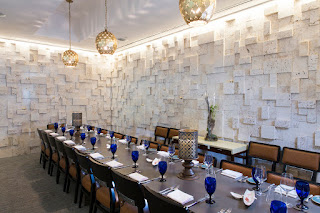 The Chef Table at the Sea Salt restaurant in St. Petersburg, Florida is also in a private dining room