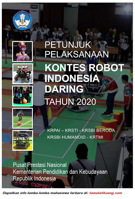 petunjuk pelaksanaaan juklak kompetisi robot indonesia kri tahun 2020 pdf tomatalikuang.com