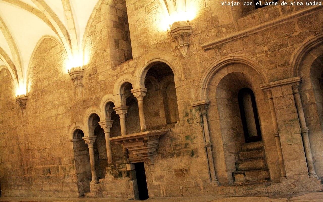 púlpito refectorio Alcobaça