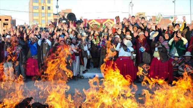Bolivia celebra Año Nuevo Andino Amazónico 5525