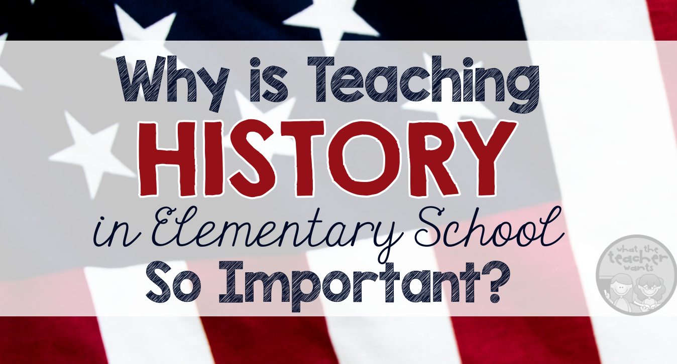 What the Teacher Wants!: Why Is Teaching History So Important?