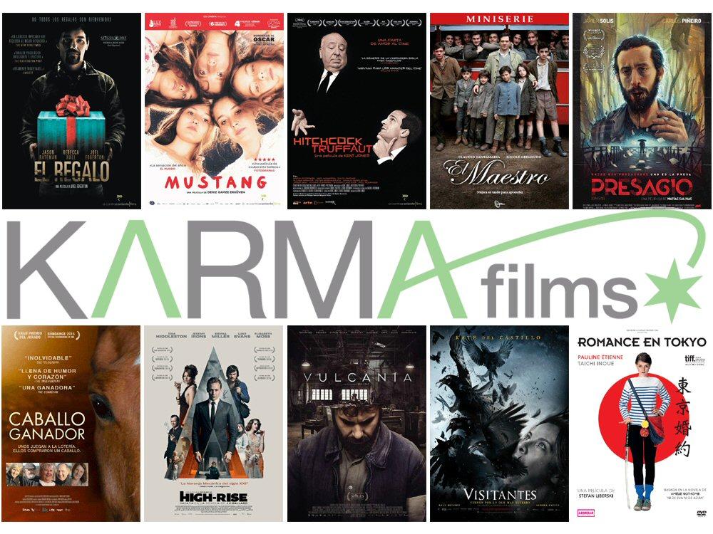Lanzamientos de agosto en DVD y Blu-ray de Karma Films