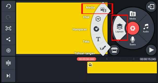 cara memisahkan audio dan video di kinemaster