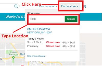 Walgreens Pharmacy locations near me