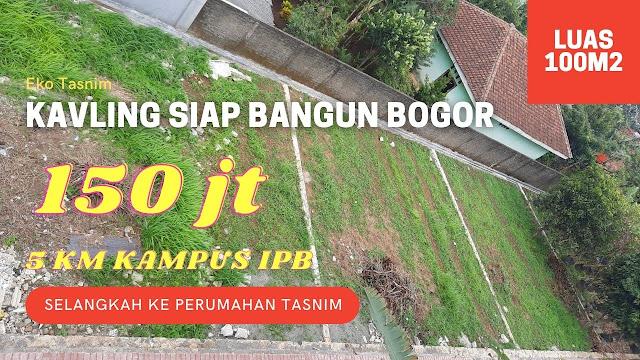 Eco Tasnim Kavling Siap bangun Murah di Ciampea Bogor