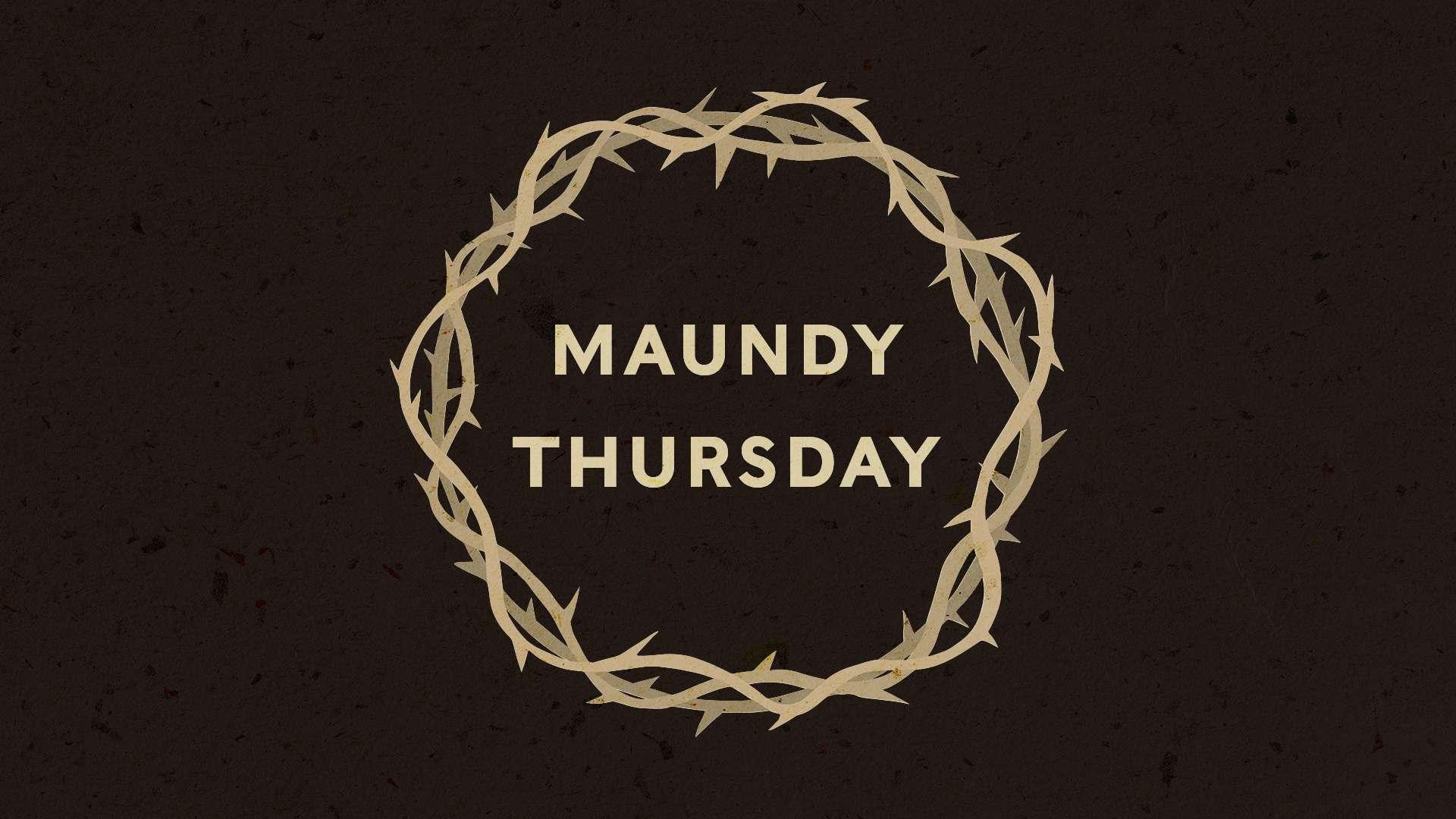 Maundy Thursday Wishes Unique Image