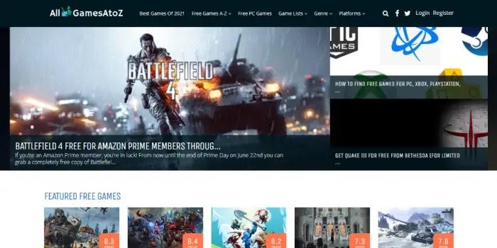 AllGamesAtoZ - situs download game terlengkap dan free