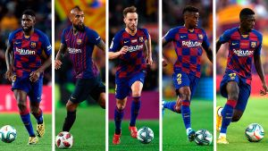 Barcelona To Sell All But Six Of Their Players This Summer