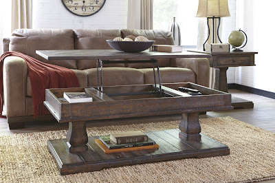 Ashley Furniture Glass Coffee Table