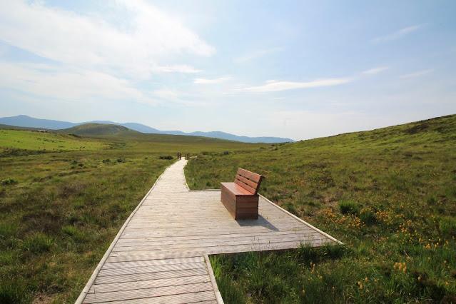 Seat at Ballycroy National Park