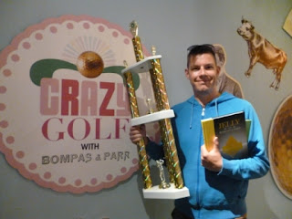 Richard Gottfried - Crazy Golf with Bompas & Parr Championship minigolf champion