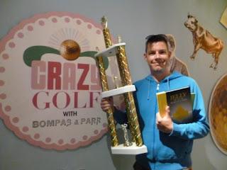 Richard Gottfried - Crazy Golf with Bompas & Parr Championship minigolf champion