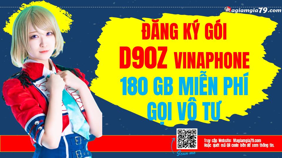 Đăng ký gói D90Z Vinaphone