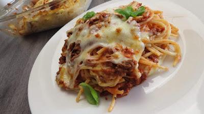 Zapečeni Špageti (Bogato, Moćno i Super Ukusno) / Delicious Cheesy Baked Spaghetti