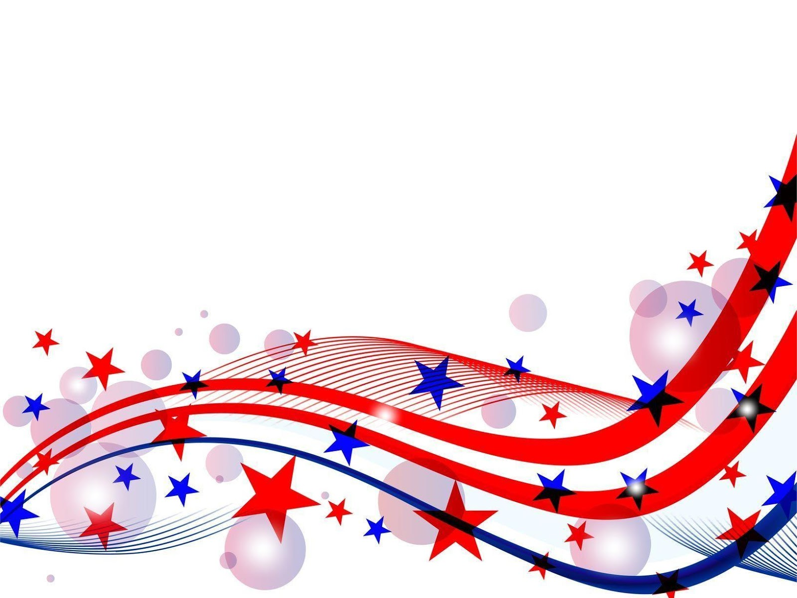 4th Of July Fireworks White Backgrounds Wallpapers