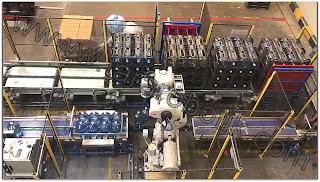 Rack Damacana Paletleme Robotu