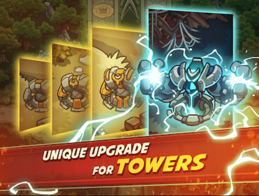 Unique Upgrade for Tower