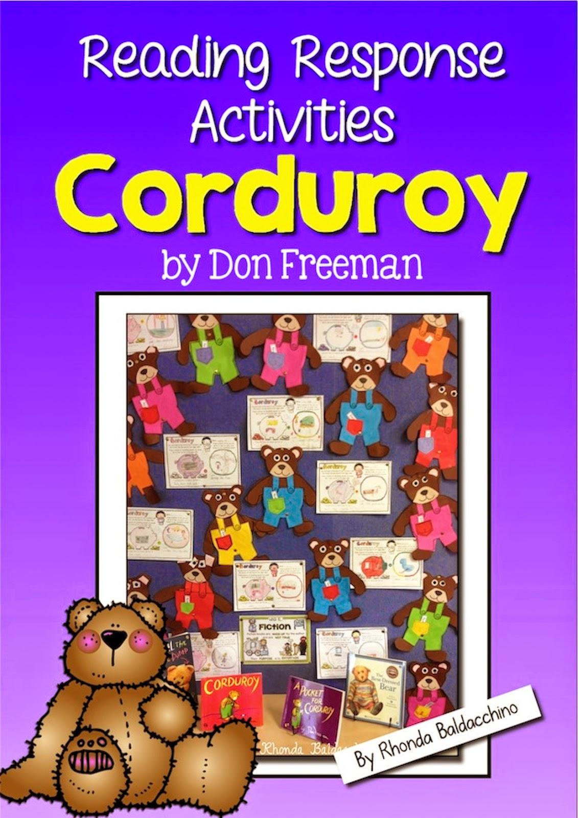 Classroom Fun Corduroy