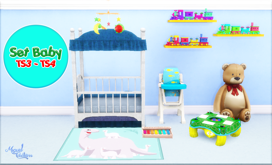 baby items by snowstorm the sims creations my sims 4 ts3 nursery conversions by miguel 55932
